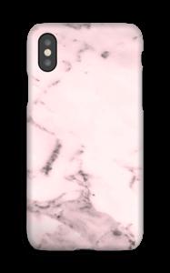 Rosa marmor deksel IPhone XS