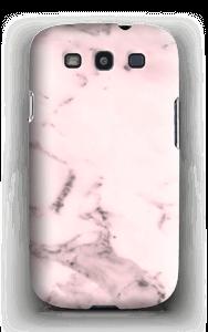 Rosa delicado Capa Galaxy S3