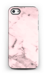 Rosa marmor deksel IPhone 5/5s tough