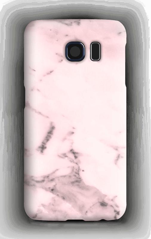 Rosa delicado Capa Galaxy S6