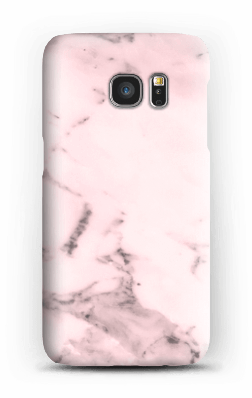 Rosa delicado Capa Galaxy S7