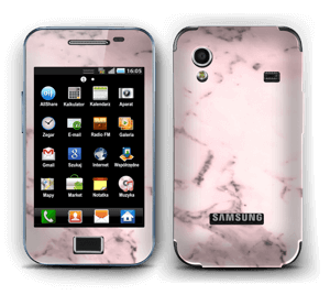 Pink marble  Skin Galaxy Ace