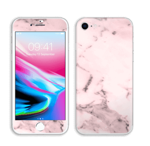 Rosa suave Skin IPhone 8