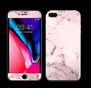 Lys rosa marmor Skin IPhone 8 Plus