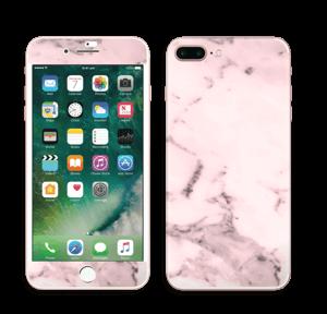 Lys rosa marmor Skin IPhone 7 Plus