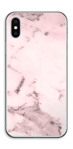 Rosa suave Skin IPhone X