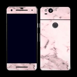 Lys rosa marmor Skin Pixel 2