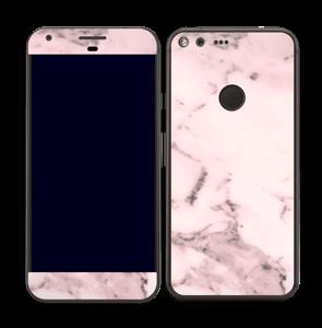 Lys rosa marmor Skin Pixel XL