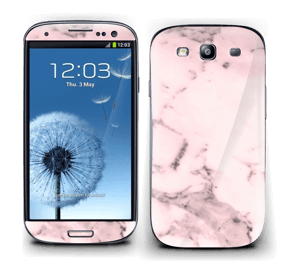 Pink marble  Skin Galaxy S3