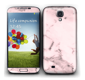 Pink marble  Skin Galaxy S4