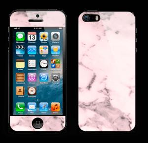 Lys rosa marmor Skin IPhone 5s