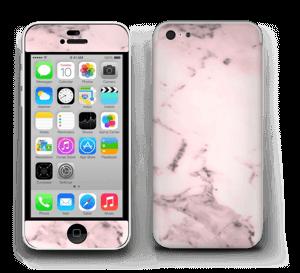 Lys rosa marmor Skin IPhone 5c