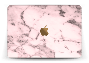 Pink and stylish marble design