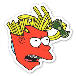 Philip J. Frylock  sticker