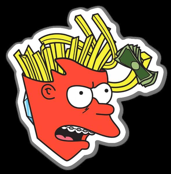 HUNGERAMA  sticker