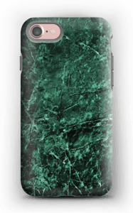 Mármore verde Capa IPhone 7 tough