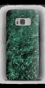Mármore verde Capa Galaxy S8