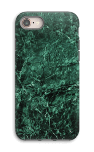 Green marble case for your IPhone 8 tough