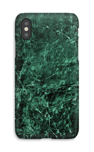 Green marble case for your IPhone X