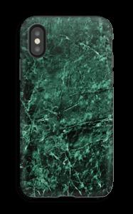 Mármore verde Capa IPhone X tough