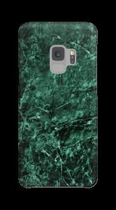 Mármore verde Capa Galaxy S9