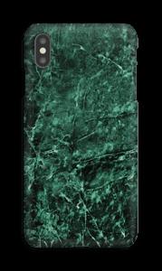 Mármore verde Capa IPhone XS Max