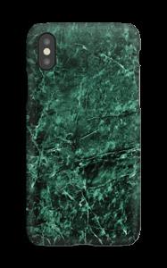 Grønn marmor deksel IPhone XS