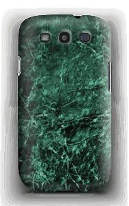 Mármore verde Capa Galaxy S3