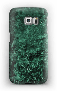 Green marble case for your Galaxy S6 Edge