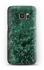 Green marble case for your Galaxy S7