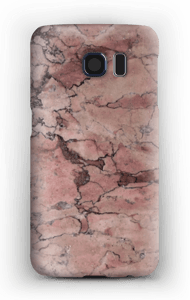 Rød stein deksel Galaxy S6