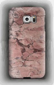 Punakivi kuoret Galaxy S6 Edge