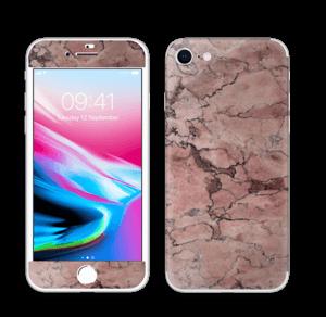 Rød sten Skin IPhone 8