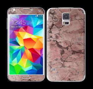 Rød sten Skin Galaxy S5