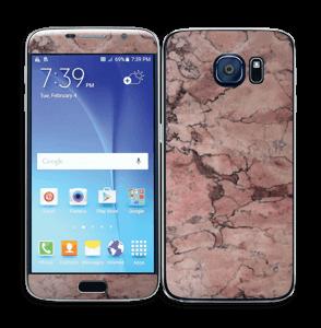 Rød sten Skin Galaxy S6