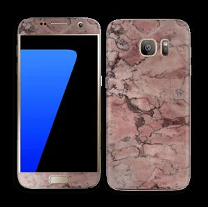 Rød sten Skin Galaxy S7