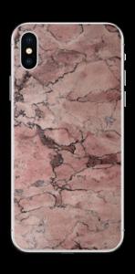 Rød sten Skin IPhone X