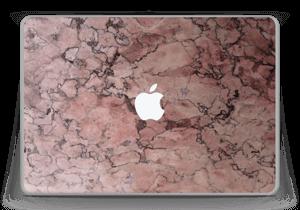 """Rød sten Skin MacBook Pro 13"""" -2015"""