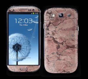 Rød sten Skin Galaxy S3