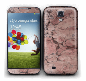 Rød sten Skin Galaxy S4