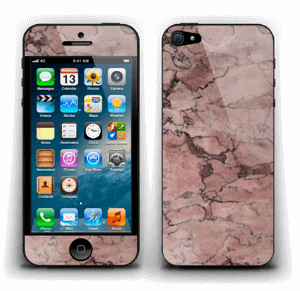Rød sten Skin IPhone 5