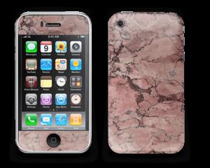 Rød sten Skin IPhone 3G/3GS