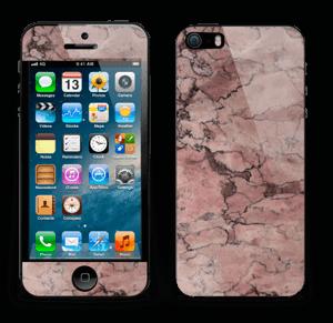 Rød sten Skin IPhone 5s
