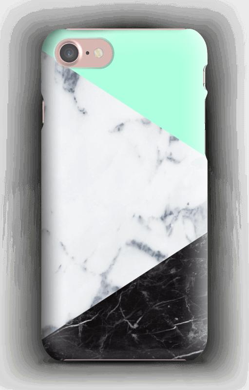Marmor og Pastell deksel IPhone 7