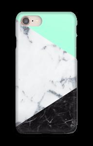 Mint Marmer  hoesje IPhone 8