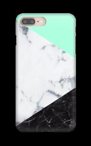 Marmor og Pastell deksel IPhone 8 Plus