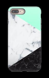 Minttusekoitus kuoret IPhone 8 Plus tough