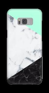 Mint Marmer  hoesje Galaxy S8 Plus