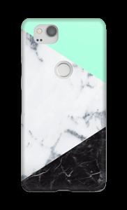 Mint Marmer  hoesje Pixel 2