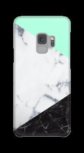Mint Marmer  hoesje Galaxy S9